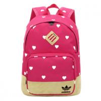 Рюкзак Adidas розовый в сердечки